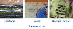 flexible packaging ribbon vs inkjet