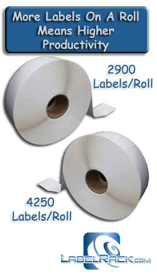 New Ultra Lite Liner – More Labels Per Roll